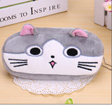 Kawaii Cartoon Animal Large Capacity Plush Pencil Holder Storage Pouch Cosmetic Bag Promotional Gift Stationery - Hespirides Gifts - 18