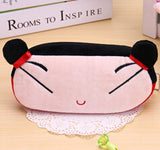 Kawaii Cartoon Animal Large Capacity Plush Pencil Holder Storage Pouch Cosmetic Bag Promotional Gift Stationery - Hespirides Gifts - 9