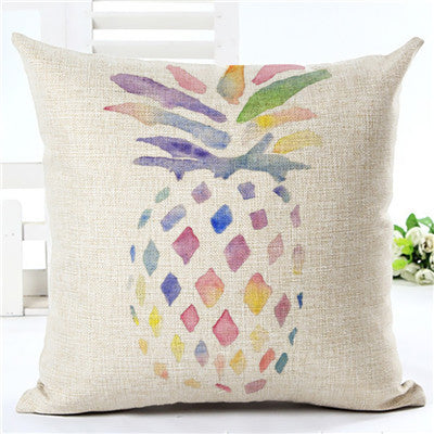 Flamingo Customized Cushion Covers Pineapple Flower Birds Custom Pillows Cover 20Styles Geometry Baby Sofa Decoration Gift - Hespirides Gifts - 2