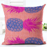 Flamingo Customized Cushion Covers Pineapple Flower Birds Custom Pillows Cover 20Styles Geometry Baby Sofa Decoration Gift - Hespirides Gifts - 3