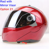 New Arrivals Best Sales Safe Flip Up Motorcycle Helmet With Inner Sun Visor Everybody Affordable Double Lens Motorbike Helmet - Hespirides Gifts - 11
