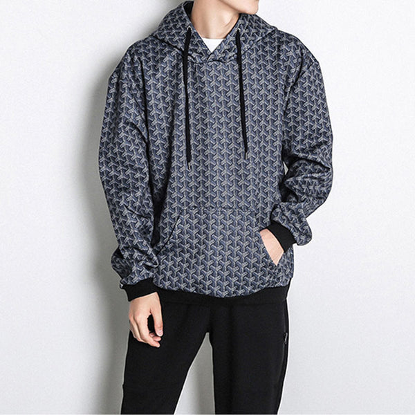 spring Autumn Fashion printed New casual Male Streetwear long sleeve Hoodies Men pullover Sport Sweatshirts plus size 5XL - Hespirides Gifts - 2