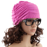 Screaming Retail Price Sexy Women Girls Long Hair Swim Cap Stretch Hat Drape Bathing Swimming Cap - Hespirides Gifts - 4