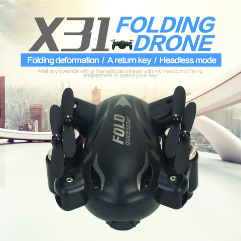 Mini Dron 2.4G 4CH 6Axis Gyro Quadcopter With Switchable Controller Flying Drone Model RTF UAV RC Helicopter - Hespirides Gifts - 1