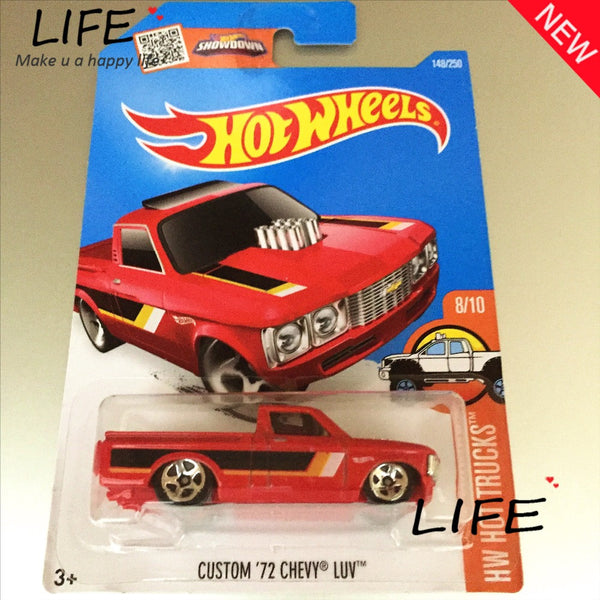 Hot Wheels Red Custom Chevy Luv Car Models Metal Diecast Car Collection Kids Toys Vehicle For Children Juguetes 40 - Hespirides Gifts