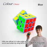 NEW Brand MoYu 3x3x3 Weilong GTS Magic Cube Stickerless Professional Puzzle Speed Cube Classic Toys 3*3*3 Cube WeilongGTS - Hespirides Gifts - 8