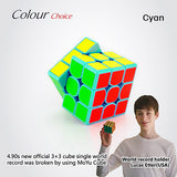 NEW Brand MoYu 3x3x3 Weilong GTS Magic Cube Stickerless Professional Puzzle Speed Cube Classic Toys 3*3*3 Cube WeilongGTS - Hespirides Gifts - 4