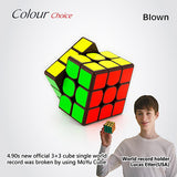 NEW Brand MoYu 3x3x3 Weilong GTS Magic Cube Stickerless Professional Puzzle Speed Cube Classic Toys 3*3*3 Cube WeilongGTS - Hespirides Gifts - 3
