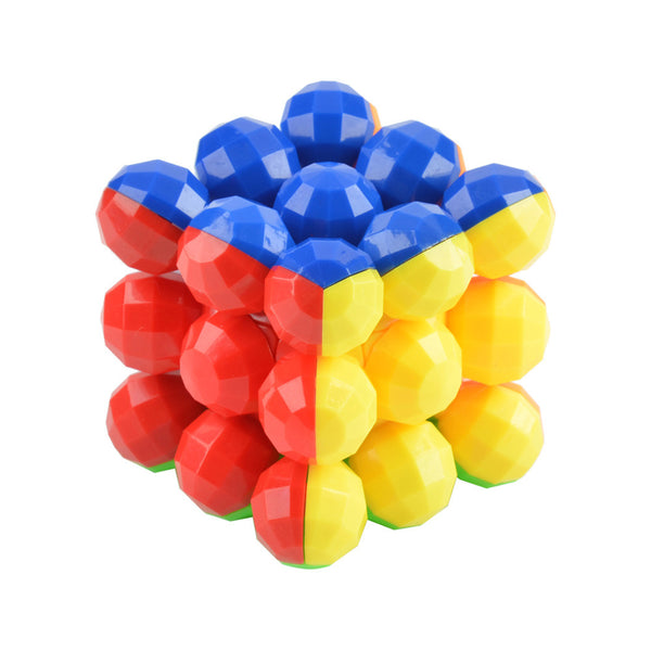 The New Listing Neo Balls Style Professional Magic Cube Style 3 x 3 x 3 Colorful Cool Brain Teaser puzzle cube Educational Toy - Hespirides Gifts