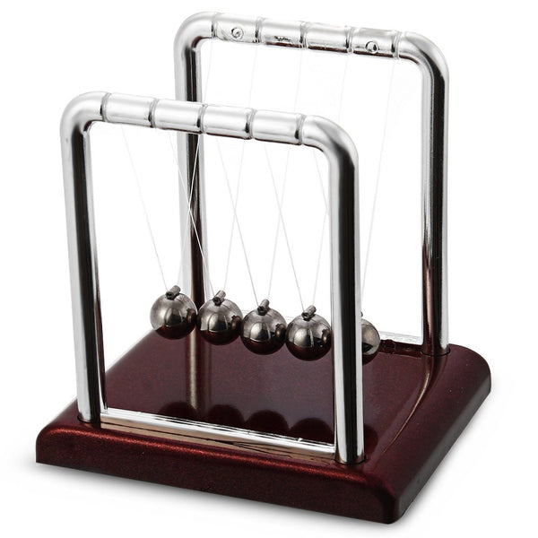 New Arrival Newton Cradle Steel Balance Ball Desk Fun Development Educational Toy Physics Science Pendulum Gifts Toy - Hespirides Gifts - 3