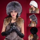 Fashion Warm Winter Tail Beanie Beret Cap Women Faux Fur Ear Earflap Hat - Hespirides Gifts - 1