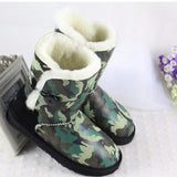 High Quality! genuine Sheepskin Real Fur 100% Wool women winter snow boots, China Brand boots - Hespirides Gifts - 8
