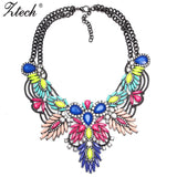 New Arrive Fashion Vintage Maxi Necklace Unique collar pendant Chunky Necklace Statement Jewelry for Women necklace Fine Jewelry - Hespirides Gifts - 1