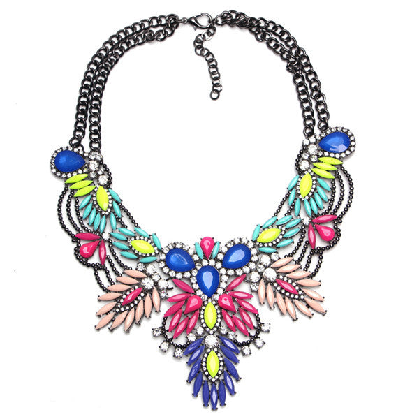 New Arrive Fashion Vintage Maxi Necklace Unique collar pendant Chunky Necklace Statement Jewelry for Women necklace Fine Jewelry - Hespirides Gifts - 2