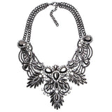 New Arrive Fashion Vintage Maxi Necklace Unique collar pendant Chunky Necklace Statement Jewelry for Women necklace Fine Jewelry - Hespirides Gifts - 3