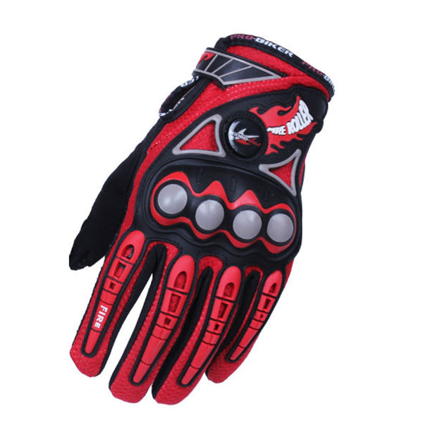 PRO-BIKER Men Motorcycle Racing Gloves Motocross Off-Road Enduro Full Finger Riding Gloves Size: M L XL 4 color - Hespirides Gifts - 3