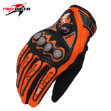 PRO-BIKER Men Motorcycle Racing Gloves Motocross Off-Road Enduro Full Finger Riding Gloves Size: M L XL 4 color - Hespirides Gifts - 2