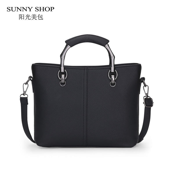 SUNNY SHOP Brand Designer Handbags High Quality Women Bag Women Leather Handbags Fashion Handbags Shoulder Bags - Hespirides Gifts - 4