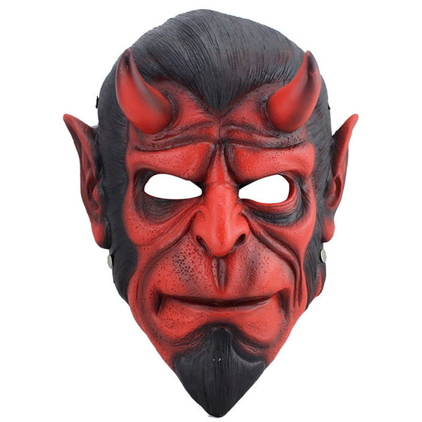 Resin Death Resin Mask Animal Hellboy Scary Mask MascaraTerror Masquerade Halloween Props Collection Mask Cosplay Fancy Costumes