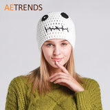 Hand Made Women Beanies Sweet Casual Cap Winter Hats Z-3085 - Hespirides Gifts - 1