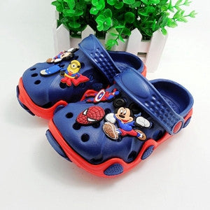 Hot sale high quality children garden shoes boys and girls cartoon summer slippers for kids Babies Sandals - Hespirides Gifts - 6