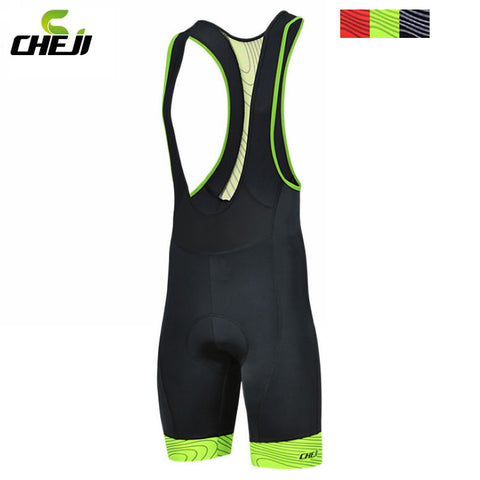 Hot selling!! CHEJI Men Outdoor Wear Bike Bicycle Cycling 3D Padded Riding Bib Shorts S-3XL 3-Colors - Hespirides Gifts - 1
