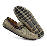 Men's 100% Genuine Suede Leather Driving Shoes,New Moccasins Handmade Shoes,Brand Design Flats Loafers For Men Y308