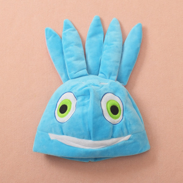 Funny LOL Hat The Tidal Trickster Fizz Cosplay Blue Plush Beanies Gift New