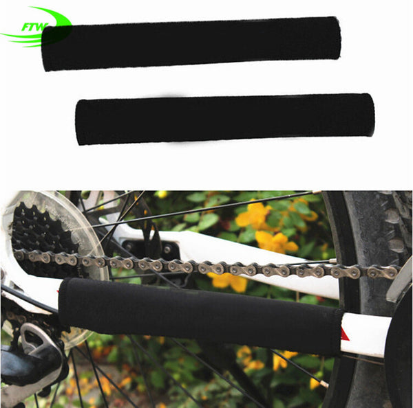 Brand Durable Cycling Chain Stay Chainstay Bike Bicycle Guard Cover Frame Black Protector SM3004 - Hespirides Gifts