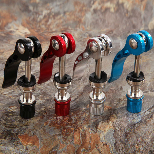 Outdoor Bicycle Aluminium Alloy Quick Release Bike Seat Post Clamp Seatpost Skewer Bolt Mountain Bike Seat Tube Clamp US#V - Hespirides Gifts