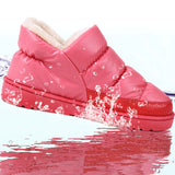 Women winter snow boots, warm flat and waterproof boots for winter size 36-43 - Hespirides Gifts - 1