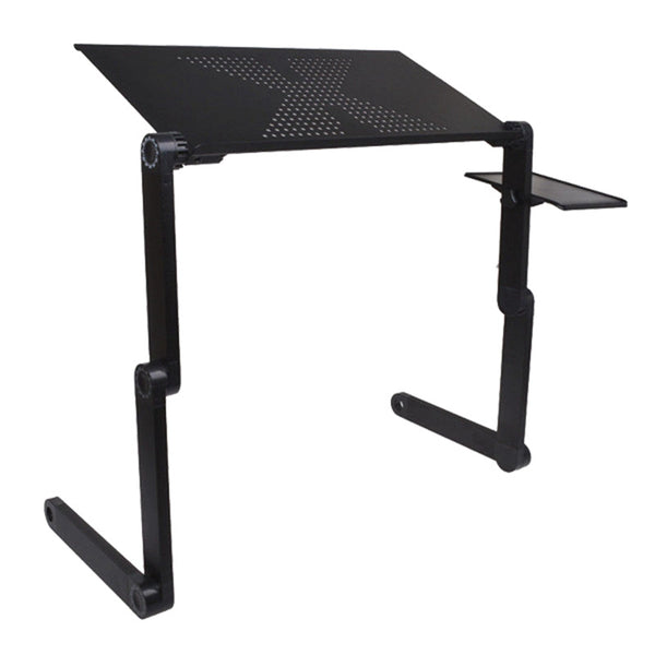 Brand New High Quality Portable Adjustable Foldable Laptop Notebook PC Desk Table Vented Stand Bed Tray - Hespirides Gifts