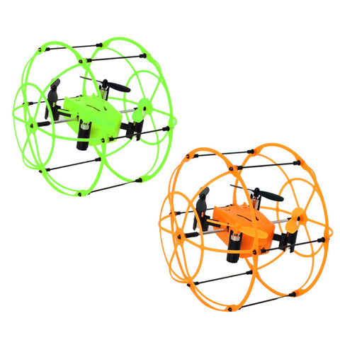 Sky Walker 1336 4CH RC QuadCopter Drone 2.4GHz 6-Axis Gyro Ready to Fly 3D Rollover Headless Model Remote Control Helicopter - Hespirides Gifts - 1