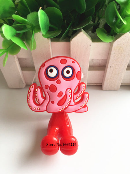 Multifunctional Cute Cartoon Animal suction cup Toothbrush Holder Hooks Bathroom Accessories 24 Colors - Hespirides Gifts - 18