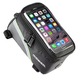 "ROSWHEEL 4.8"" 5.7""Cycling Bike Bicycle bags panniers Frame Front Tube Bag For Cell Phone MTB Bike Touch Screen Bag - Hespirides Gifts - 4"