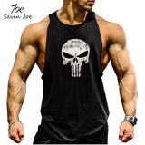 Seven Joe.New Brand clothing Bodybuilding Fitness Men Tank Top Golds Gorilla Wear Vest Stringer sportswear Undershirt - Hespirides Gifts - 6