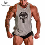 Seven Joe.New Brand clothing Bodybuilding Fitness Men Tank Top Golds Gorilla Wear Vest Stringer sportswear Undershirt - Hespirides Gifts - 5