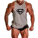 Seven Joe.New Brand clothing Bodybuilding Fitness Men Tank Top Golds Gorilla Wear Vest Stringer sportswear Undershirt - Hespirides Gifts - 2