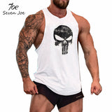 Seven Joe.New Brand clothing Bodybuilding Fitness Men Tank Top Golds Gorilla Wear Vest Stringer sportswear Undershirt - Hespirides Gifts - 9