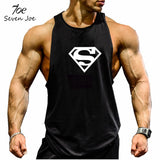 Seven Joe.New Brand clothing Bodybuilding Fitness Men Tank Top Golds Gorilla Wear Vest Stringer sportswear Undershirt - Hespirides Gifts - 3