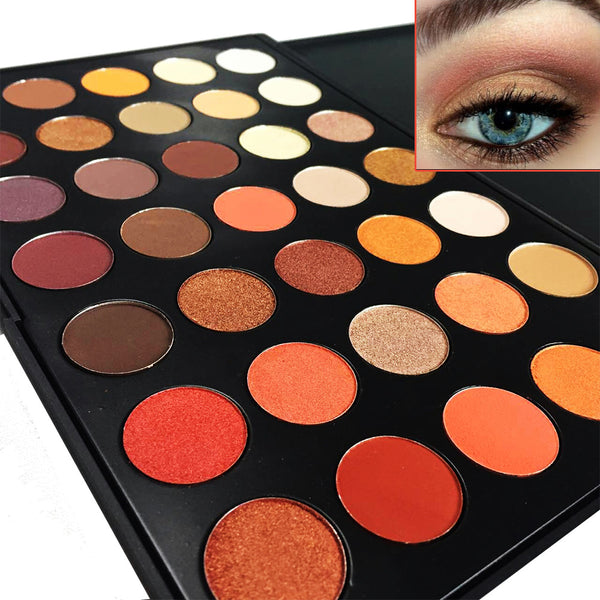 Buy Newest 350 Palette 35 Color Eyeshadow Palette Earth