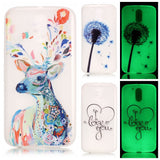 Luminous Soft TPU Cover for Motorola Moto G4 / Moto G 4 Plus / Moto G4 Play Ultra-thin Fluorescence Silicone Back Phone Cases - Hespirides Gifts - 1