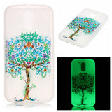 Luminous Soft TPU Cover for Motorola Moto G4 / Moto G 4 Plus / Moto G4 Play Ultra-thin Fluorescence Silicone Back Phone Cases