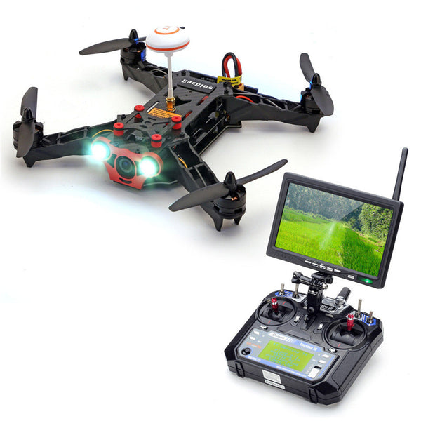 New Eachine Racer 250 FPV Drone w/ Eachine I6 2.4G 6CH Transmitter 7 Inch 32CH Monitor HD Camera RTF - Hespirides Gifts