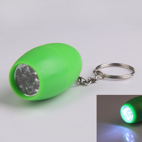 High Quality Outdoor Hiking Camping Light Mini Pocket 6 LED Small Bowling Shape Flashlight Electric Light Green HS - Hespirides Gifts - 1