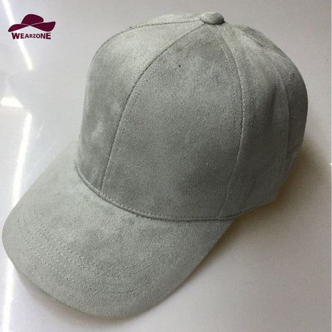 Man woman Baseball Hats New Brand Caps Casual Sports hat Suede Snapback Hat Gorra Hombre solid cappello hip hop baseball cap - Hespirides Gifts - 1