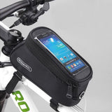 ROSWHEEL BICYCLE BAGS CYCLING BIKE FRAME IPHONE BAGS HOLDER PANNIER MOBILE PHONE BAG CASE POUCH - Hespirides Gifts - 7
