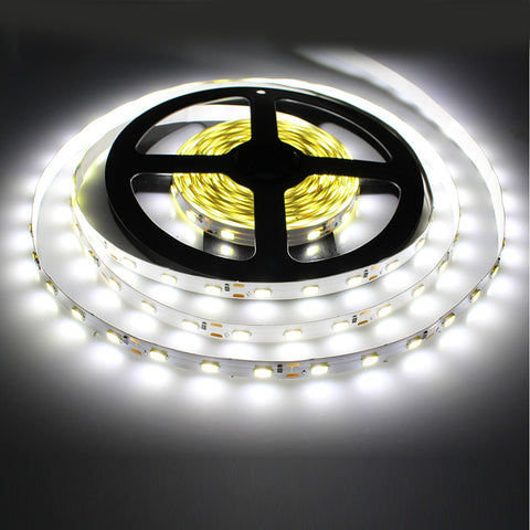Tanbaby LED Strip light 5630 DC12V 5M 300led flexible 5730 bar light high brightness Non-waterproof indoor home decoration - Hespirides Gifts