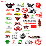 NEW MTB Bike Road Bicycle Sticker Cycling decoration Scratching Stickers Waterproof stickers the casualness applique stickers - Hespirides Gifts - 3
