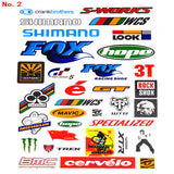 NEW MTB Bike Road Bicycle Sticker Cycling decoration Scratching Stickers Waterproof stickers the casualness applique stickers - Hespirides Gifts - 2